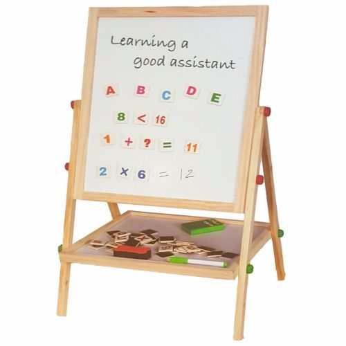 WOODEN 2IN1 EASEL (SIL-138)