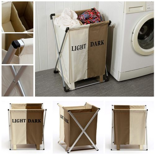 2COMPARTMENT LAUNDARY BASKET