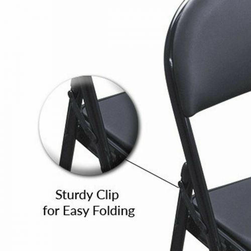 Delux Padded Folding Chair SI-HH1007