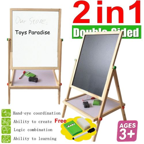 WOODEN EASEL WITH ACCESSORY 100CM